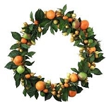 Fruity Christmas Wreath 16 oz. Size