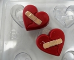 Broken Heart Soap Mold