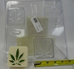 Hemp Leaf Soap Mold