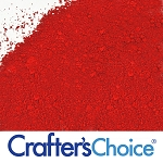Crafter's Choice Bath Bomb Red Powder Color 2 oz. Size