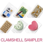 Soap Clamshell Sampler