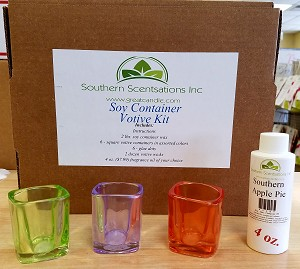 Soy Container Votive Kit