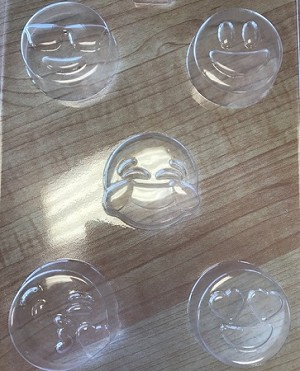 Emoji Soap/Candy Mold
