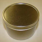 8 oz Silver Slip Tins One Dozen