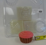Cupcake Soap Mold Out Of Stock