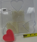Heart Soap Mold Large