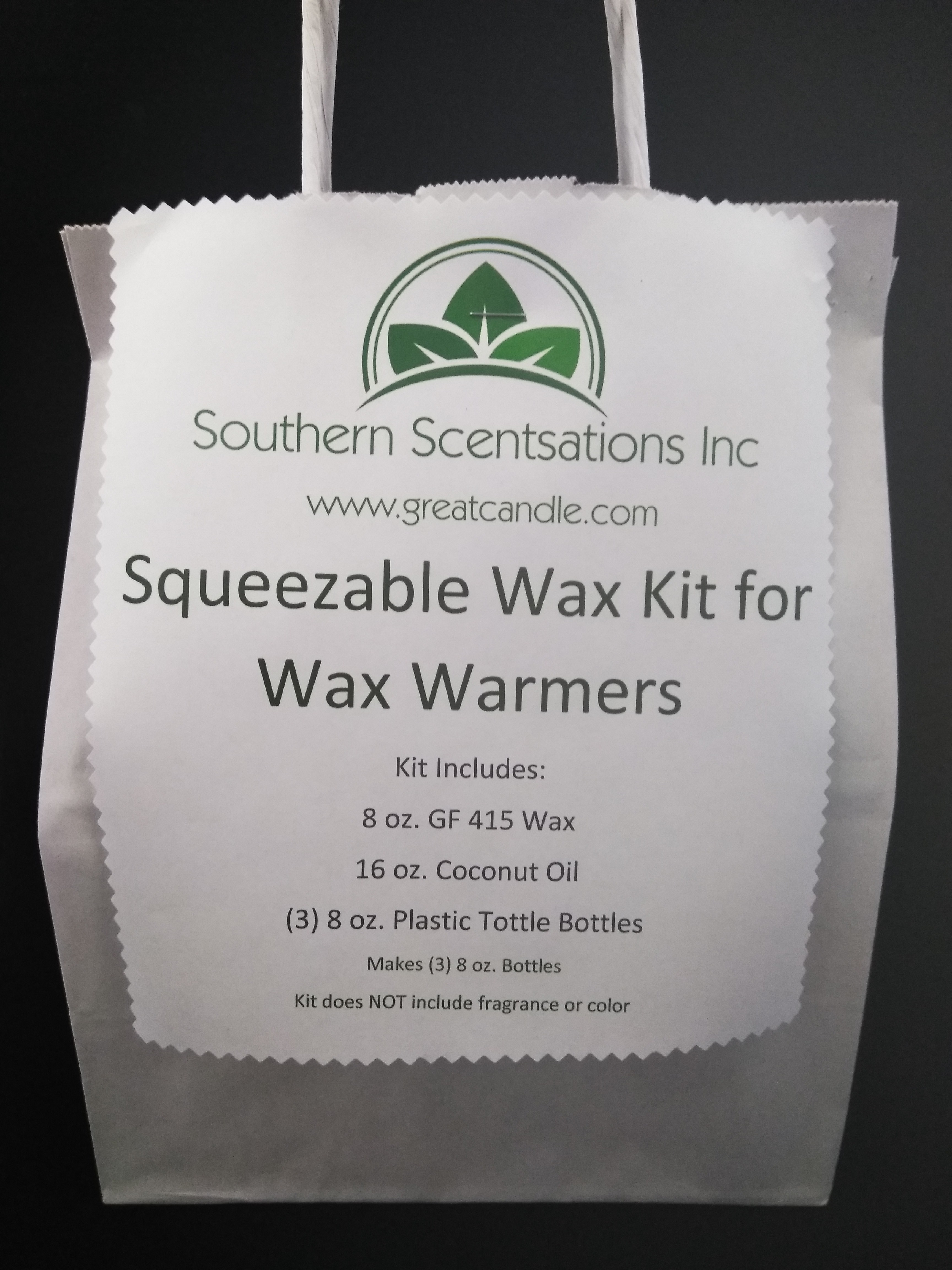Squeezable Wax Kit for Wax Warmers