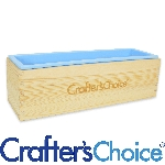 Wood & Silicone Loaf Soap Mold Set - Crafter's Choice