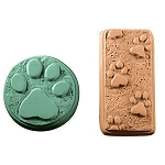 Paw Prints Soap Mold