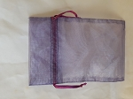 Organza Bags - Purple 10 Count.