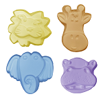 Zoo Critter Soap Mold