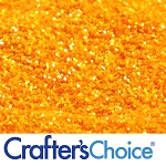 Marigold Yellow Glitter 2 oz.