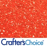 Red Orange Glitter 2 oz.