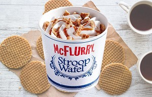 Stroopwafel McFlurry Type 8 oz.