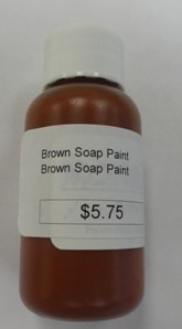 Brown Soap Paint / Dye